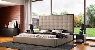 Modloft Jane Bed by Modloft Ludlow King Taupe Platform Bed Free Shipping In Canada