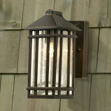 j du j craftsman 10 high outdoor wall light wall porch