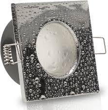 aqua base ip65 1er set ultra flach led 5w 50w 230v decken