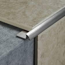 tile rite rss379 10mm stainless steel effect tile edging