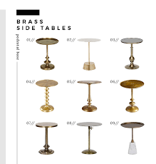The Best Brass Side Tables of Every Style and Price Room for Tuesday