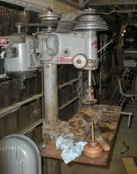 Floor Mount Drill Press by Machine Id U0027d Rockwell Delta 17