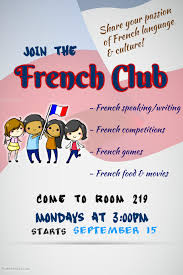 First Rendez Vous Of New French Club At The Woodlands School