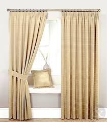 custom country curtains and drapes with brown color for