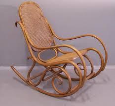 Sam Maloof Rocking Chair Auction by Gebruder Thonet Bentwood Rocking Chair Number 7025 Thonet