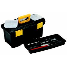 100 Plastic Truck Toolbox 12 In With Top Tray