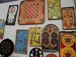 This Shows The Other Side Of Carrom Board