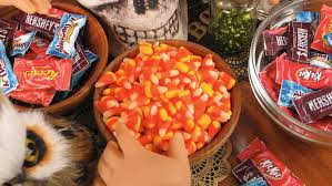 Halloween Candy Dish Craft by Halloween Candy Tutorial U2013 Miniature Candy Corn For 18 Inch Dolls