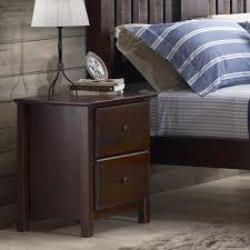 Shaker 2 Drawer Nightstand – Grain Wood Furniture