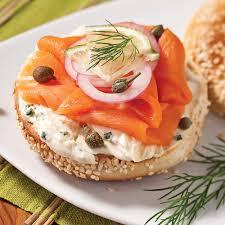 canapés saumon fumé bagels au saumon fumé soupers de semaine recettes 5 15