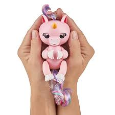 3 Colors Fingerlings Interactive Baby Unicorn GIGI