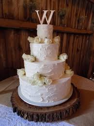 4 Tier Rustic Textured Buttercream Wedding Cake Decorated With Fresh White Roses Cakes Stewartstown PA