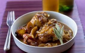 sauge cuisine recettes poulet à la sauge et zestes de citron cuisine et recettes