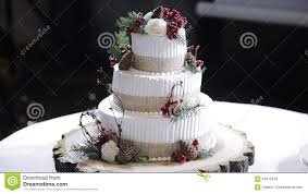 Wedding Cake With Berries Rustic Stock Video
