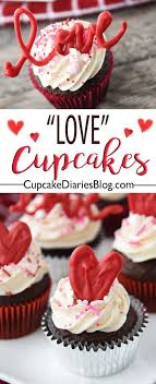 Share The Love This Valentines Day With A Chocolate Cupcake Cupcakes Are