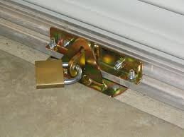 Sliding Glass Door Security Bar by Roller Garage Door Security Locks Http Franzdondi Com