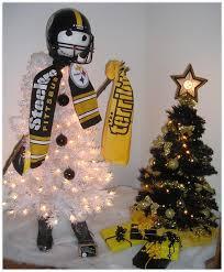 NPCs Purchasing Department Pittsburgh Steelers 2017 Christmas Tree