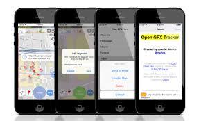 GPS Tracker app for iOS Open GPX Tracker