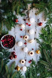 Christmas Tree Meringues by Cranberry U0026 White Chocolate Macarons U2014