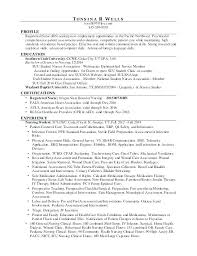 Pacu Rn Resume Nurse Sample Op Examples