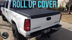 Roll Up Bed Cover by Gator Roll Up Tonneau Cover Install On Silverado Youtube