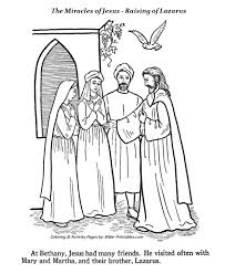 The Miracles Of Jesus Coloring Pages 1