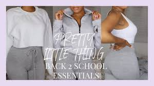 PRETTY LITTLE THING BACK TO SCHOOL ESSENTIALS TRY- ON HAUL ! | DARCIA  DORILAS Seen On Latest Celeb Fashions Preylittlething Shoptagr Rose Strappy Ribbed Cowl Neck Bodycon Dress By Storytime Bhoocom Refund Nightmare Pretty Little Thing Missguided Vs Asos Refunds Black Friday Cyber Monday 2018 Us Usa Will Shopping At Give Me Cancer Why Plt App Whats In Hailey Baldwins Collection Leopard Skirt 25 Off Everything Instantly Coupon Codes Topman And Accused Of Replacing Other