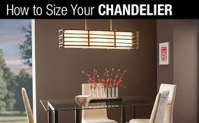 How To Size Your Chandelier Correctly