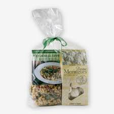Christmas Tree Meringues Cookies by Christmas Tree Noodle Gift Set The Pasta Shoppe