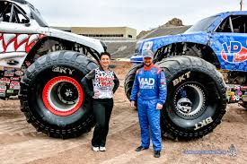 Story In Many Pics: Monster Jam Media Day | El Paso Herald-Post Monster Trucks Drivers Best Image Truck Kusaboshicom Beach Devastation Myrtle Jam 2016 Sicom Trucks Monster Fun At Monsignor Clarke School Rhode Instigator Xtreme Sports Inc World Finals Xvii Competitors Announced Warning Truck Drivers Ahead Jim Kramer Wiki Fandom Powered By Wikia Bigwheel Power Whats It Take To Drive A We Quiz Champion Driver Worlds Youngest Pro Female Driver 19year Old Backdraft