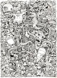 The Ultimate Doodle Coloring Book This Big Sized Is A Challenge For All AgesIf You Are Fanatic Doodler And Obsessed With Filling In
