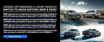 Luxury Cars For Sale | BMW Dealer Lafayette, LA | Moss BMW