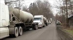 100 Halliburton Trucks Fracking Phelps Site Chief Gas 121614 YouTube