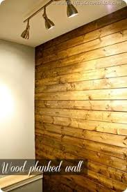 DIY Easy Peel And Stick Wood Wall Decor