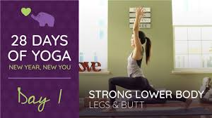 YOGA BOOTY WORKOUT I Strong Lower Body Yoga Workout