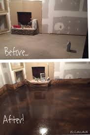 Rust Oleum Decorative Concrete Coating Sahara by Basement Almost Behr Concrete Stain Golden Desert And