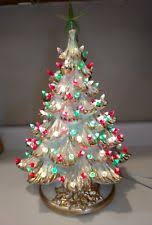 Clear Bulbs For Ceramic Christmas Tree by Vintage Ceramic Christmas Tree Ebay