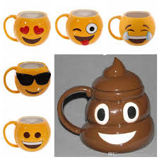 Emoji Cute Mugs Emotive Coffee Mug Office Drinking Cup Smiling Face Water Glass 6 Designs Ooa1878 To Buy Travel From Shuaijinjin China