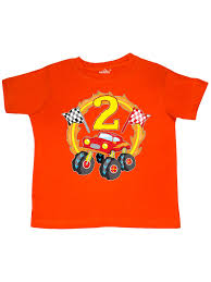 100 Monster Truck T Shirts Inktastic 2nd Birthday Oddler Shirt Walmartcom