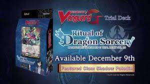 Trial Deck 9 by G Trial Deck 10 Ritual Of Dragon Sorcery Cardfight Vanguard