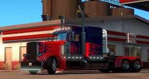 Optimus Prime Skin For Peterbilt 389 • ATS Mods | American Truck ...