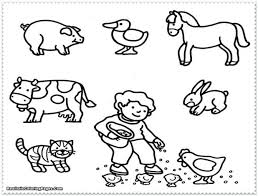 Cute Baby Dog Coloring Pages Realistic Animal Feed Animals Kids Woodland Free Spring Zoo Wild Printable