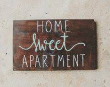 Wood Signs Apartment Decor