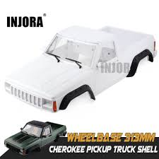 INJORA Hard Plastic 313mm Wheelbase Cherokee Pickup Truck Car Shell ... Wpl Wplb1 116 Rc Truck 24g 4wd Crawler Off Road Car With Light Cars Buy Remote Control And Trucks At Modelflight Shop Brushless Electric Monster Top 2 18 Scale 86291 Injora Hard Plastic 313mm Wheelbase Pickup Shell Kit For 1 Fayee Fy002b Rc 720p Hd Wifi Fpv Offroad Military Tamiya 110 Toyota Bruiser 4x4 58519 Fierce Knight 24 Ghz Pro System Hot Sale Jjrc Army Fy001b 24ghz Super Clod Buster Towerhobbiescom Hg P407 Rally Yato Metal 4x4