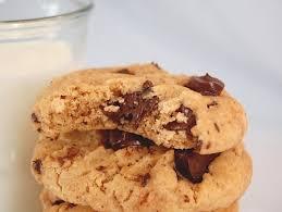recette de cuisine cookies recette cookies beurre de cacahuète pépites cuisinez cookies