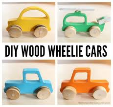 ana white build a wood push car truck and helicopter toys