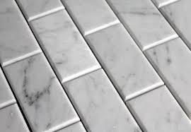 carrara venato 2纓4窶ウ subway tile the builder depot
