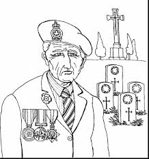 Download Coloring Pages Veteran Day Remarkable Memorial Thank You With