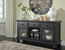 Dining Room Credenza Buffet Gorgeous Server Charcoal Buffets And