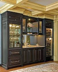 Dining Room Bar Cabinet Built By E W Construction Photography J Lee Regarding Cabinets